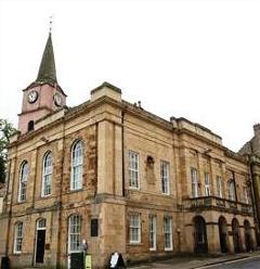 Jedburgh Sheriff Court © Crown copyright