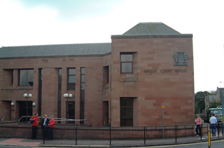 Kilmarnock Sheriff Court and Justice of the Peace Court