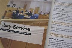 Photo of Jury Service Leaflet