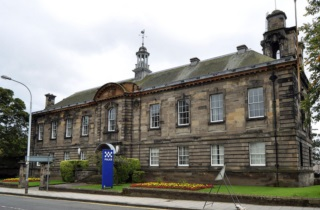 Kirkcaldy Police Station - new courts